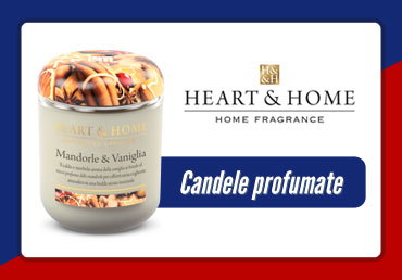 candele profumate heart home torino