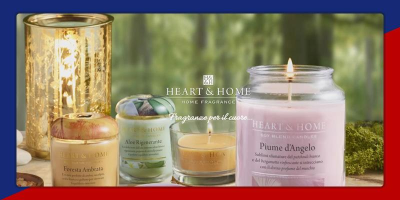 candele profumate heart & home torino