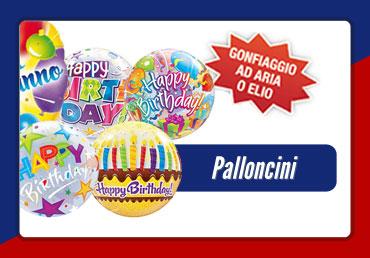 vendita palloncini elio torino