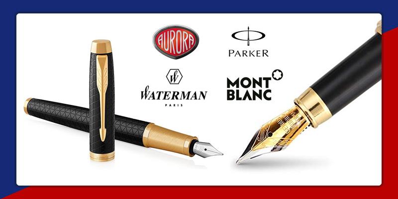 penne stilografiche aurora parker waterman torino